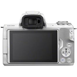 Canon EOS M50 Body With EF-M 15-45mm IS STM Lens Kit - White Thumbnail Image 11